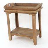 Abasi Wooden Tray Table August Grove