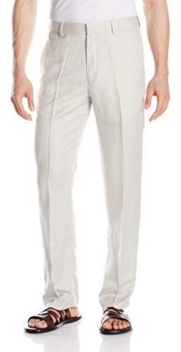 Cubavera Men's Flat-Front Herringbone Pant
