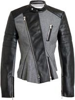 3.1 Phillip Lim colour block biker jacket