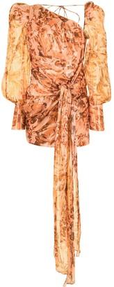 Acler Charlotte draped mini dress