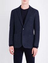 Ralph Lauren Purple Label Slim-fit wool and alpaca-blend jacket