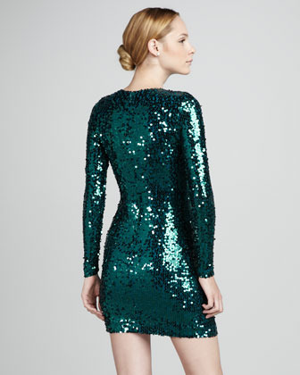 French Connection Sequined Fitted Dress (Stylist Pick!)