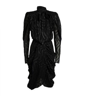 Isabel Marant Neck-Tie Atoa Dress