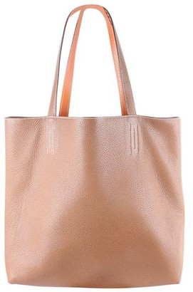 Hermes Orange Clemence leather Sens 36 Tote