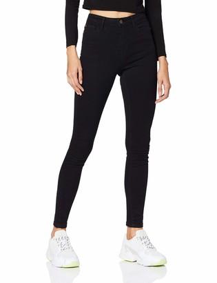 Jacqueline De Yong Women's JDYJONA Life Skinny HW Stay BLK DNM NOOS Jeans