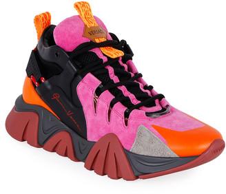 Versace Men's Squalo Hiker Sneakers