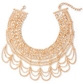 New York & Co. Draped Chain-Link Statement Necklace