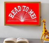 Pottery Barn Kids Framed Light Up Decor - Read to Me