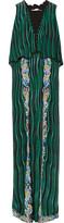 Mary Katrantzou Fairburn Snuffbox-print silk maxi dress