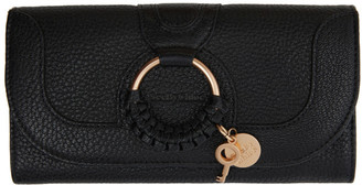 See by Chloe Black Hana Long Wallet
