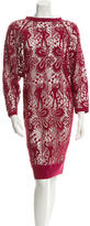 Isabel Marant Crocheted Midi Dress