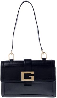 Gucci Black Leather Square G Flap Shoulder Bag
