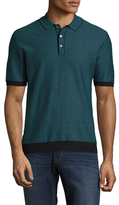 Trina Turk Morgan Cotton Polo Shirt