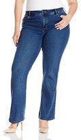 Lee Women's Plus-Size Easy Fit Emma Barely Bootcut Jean