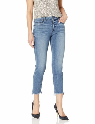 Parker Smith Women's Shark Bite Straight Crop Jeans
