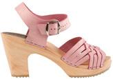 Cape Clogs Women's Herringbone Pink Sandal
