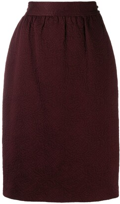 Ungaro Pre-Owned '1980s pencil skirt