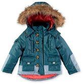Rockin' Baby Iceland Size 3-4T Parkie Winter Coat in Blue