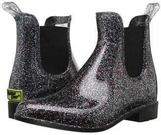 Western Chief Glitter Chelsea Boots (Little Kid/Big Kid) (Multi) Girls Shoes