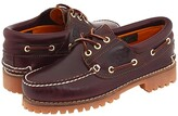 Timberland Traditional Handsewn 3-Eyelet Classic Lug (Burgundy Smooth Leather) Men's Shoes