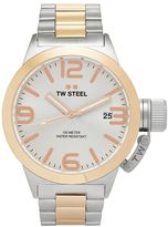 TW Steel Men's Canteen Two Tone Stainless Steel Watch