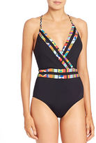 Nanette Lepore Mambo Goddess One-Piece Swimsuit