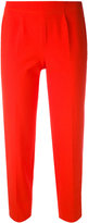 Piazza Sempione cropped trousers - women - Cotton/Spandex/Elastane - 42