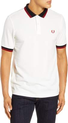 Fred Perry Tipped Pique Polo