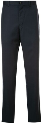 Kent & Curwen Worsted Micro Motif Suit Trousers