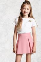 FOREVER 21 girls Girls Faux Leather Skirt (Kids)