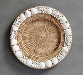 Pottery Barn Shell-Rimmed Charger