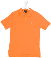 Ralph Lauren logo polo shirt - kids - Cotton - 14 yrs