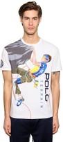 Polo Ralph Lauren Printed Cotton Jersey T-shirt