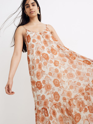 Madewell Scoop Back Cami Midi Dress