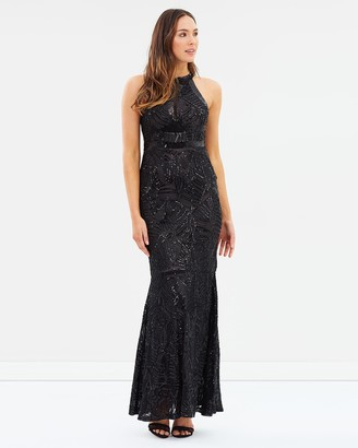 Alabaster The Label - Women's Black Maxi dresses - Enchantment Sequin Dress - Size One Size, 8 at The Iconic