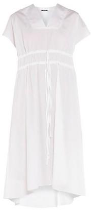 Jil Sander Navy Knee-length dress