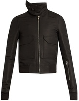 Rick Owens Patch-pocket Technical Bomber Jacket