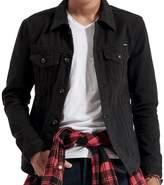 Just No Logo Men's Casual Denim Jacket(,L)