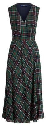 Ralph Lauren Plaid Wrap Dress