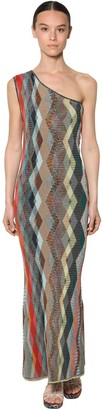 Missoni One-shoulder Viscose Knit Dress