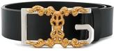 Dolce & Gabbana monogram buckle belt