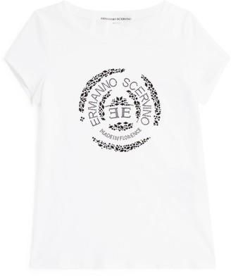 Ermanno Scervino Logo Embellished T-Shirt