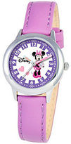 Disney Minnie Mouse Girls' Stainless Steel Watch