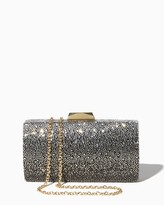 Charming charlie Ombre Rhinestone Clutch