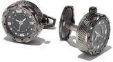 Jan Leslie Sterling Silver Watch Cuff Links
