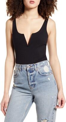 Lulus XOXO Sleeveless Bodysuit