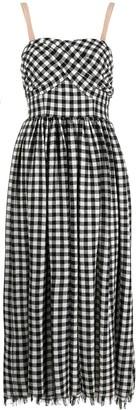 Pinko Battistelli gingham dress