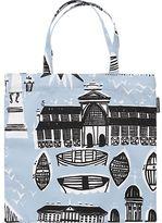 Marimekko Helsinki Espa Blue and Black Bag