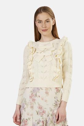LoveShackFancy Kennie Pullover Knit