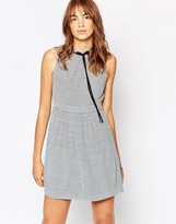 Vero Moda Tie Neck Sleeveless Dress